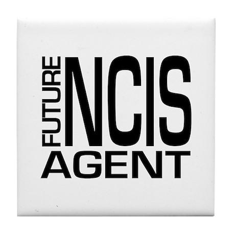 Future NCIS agent Tile Coaster