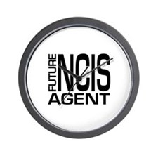 Future NCIS agent Wall Clock