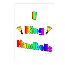 I Ring Handbells Postcards (Package of 8)