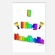 I Ring Handbells Postcards (Package of 8)