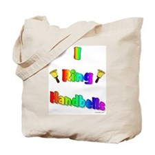 I Ring Handbells Tote Bag