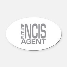 Future NCIS agent Oval Car Magnet