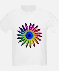 Angel Feathers Flower T-Shirt