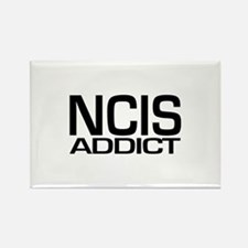 NCIS addict Rectangle Magnet
