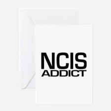 NCIS addict Greeting Card