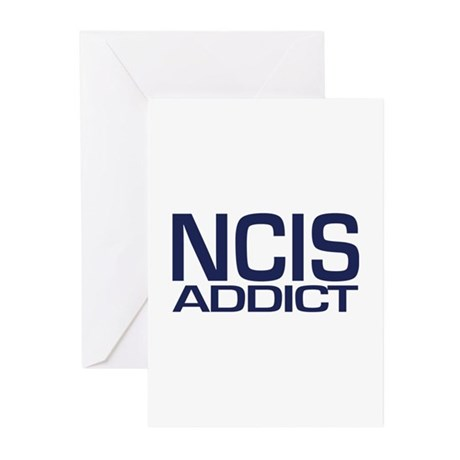 NCIS addict Greeting Cards (Pk of 20)