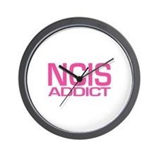 NCIS addict Wall Clock