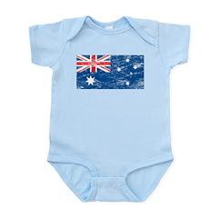 Vintage Australia Flag Infant Creeper