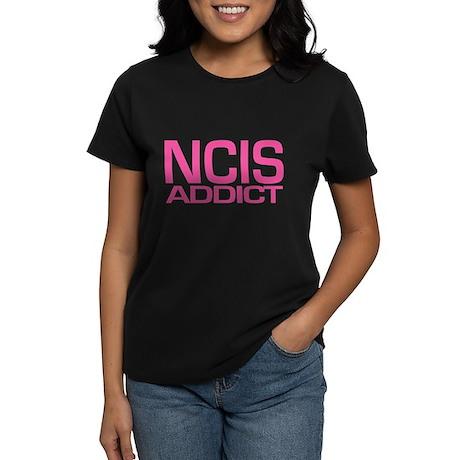NCIS addict Women's Dark T-Shirt