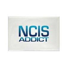 NCIS addict Rectangle Magnet (10 pack)