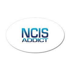 NCIS addict 22x14 Oval Wall Peel