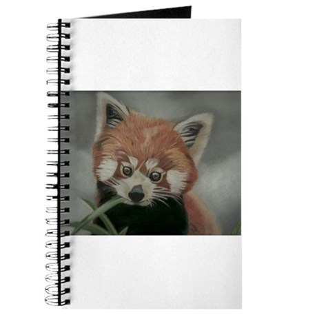Red Panda - Painting Done in Pastels Journal
