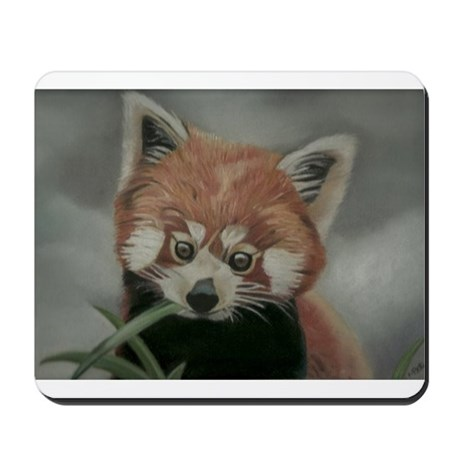 Red Panda - Painting Done in Pastels Mousepad