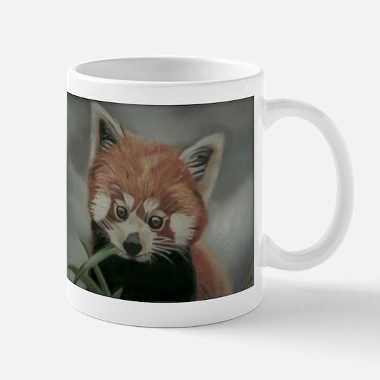 Red Panda - Painting Done in Pastels Mug