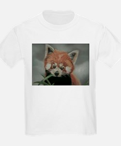 Red Panda - Painting Done in Pastels T-Shirt