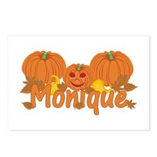 Halloween Pumpkin Monique Postcards (Package of 8)