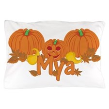 Halloween Pumpkin Mya Pillow Case
