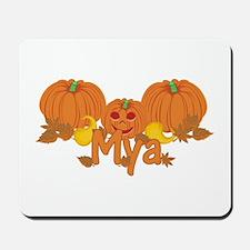 Halloween Pumpkin Mya Mousepad
