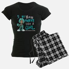Fights Like a Girl 42.9 Ovarian Cancer Pajamas
