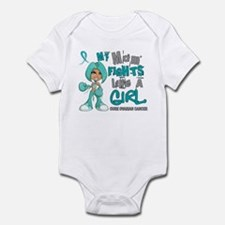 Fights Like a Girl 42.9 Ovarian Cancer Infant Body