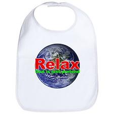Relax Earth Bib