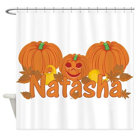 Halloween Pumpkin Natasha Shower Curtain By Sunnydaysgirls