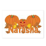 Halloween Pumpkin Natasha Postcards (Package of 8)