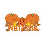Halloween Pumpkin Natasha 35x21 Wall Decal