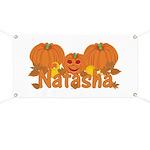 Halloween Pumpkin Natasha Banner