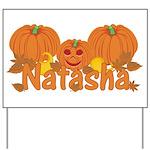 Halloween Pumpkin Natasha Yard Sign