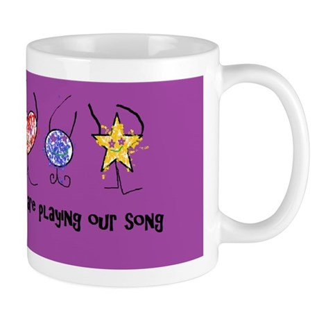 they are playing our song Mug