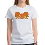Halloween Pumpkin Nichole Women's T-Shirt
