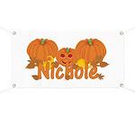 Halloween Pumpkin Nichole Banner