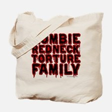 Zombie Redneck Torture Family Blood Tote Bag