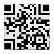 THH QRcode Tile Coaster