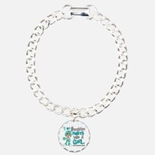 Fights Like a Girl 42.9 Ovarian Cancer Bracelet