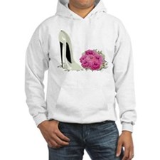 Wedding Stiletto Shoe and Roses Hoodie