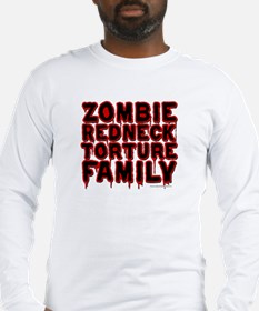 Zombie Redneck Torture Family Long Sleeve T-Shirt