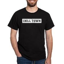 Chill Town Ash Grey T-Shirt T-Shirt