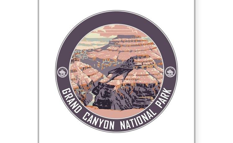 Canapé En Soldes Chez Fly : Grand Canyon Souvenirs Bumper Stickers  Car Stickers