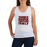 Zombie Redneck Torture Family Women's Tank Top