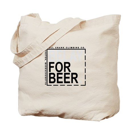 Belay For Beer. Tote Bag