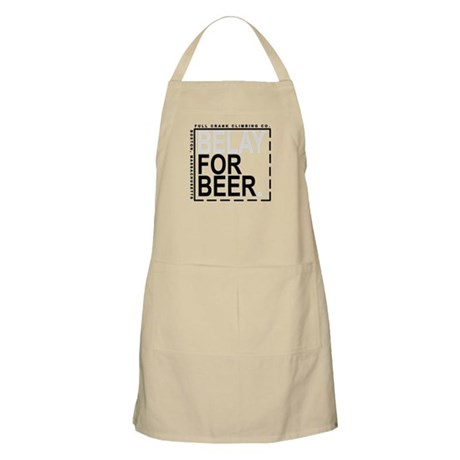 Belay For Beer. Apron
