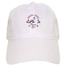 Peace Love PIGEONS Baseball Cap