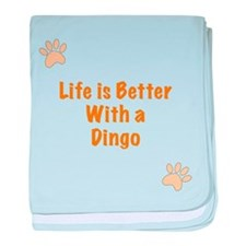 Life is better with a Dingo baby blanket