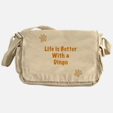 Life is better with a Dingo Messenger Bag