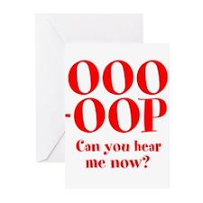 OOO-OOP Greeting Cards (Pk of 20)