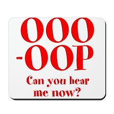OOO-OOP Mousepad