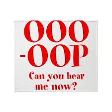 OOO-OOP Throw Blanket