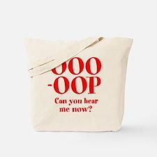 OOO-OOP Tote Bag